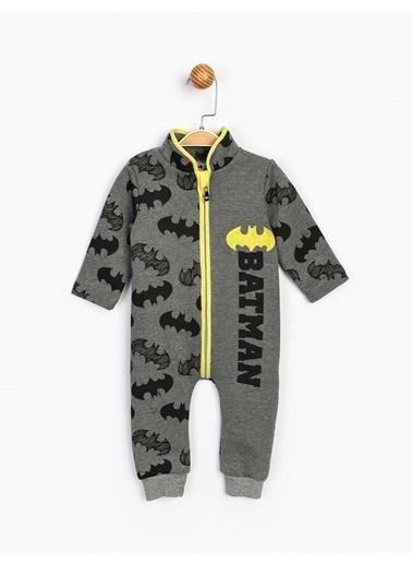 Batman  Patiksiz Bebek Tulum 16423 Gri
